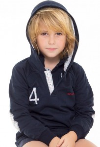 Sudadera capucha de Kid´s chocolate