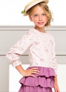 Vestido volantes de Kid´s chocolate