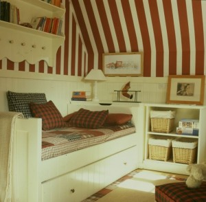 Dormitorio niño rayas de Me & You