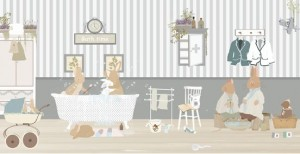 Papel bath time de Little Hands