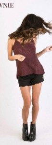 Top y short ondas de Brownie