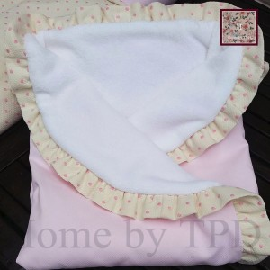 Arrullo rosa y beige de Home by TPD