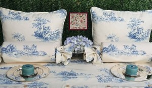 Cojines toile de jouy de Home by TPD