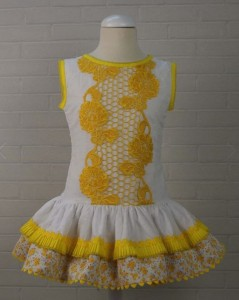 Vestido Van Gogh de Chic to Kids