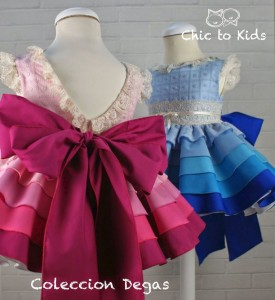 Vestidos Degas de Chic to Kids