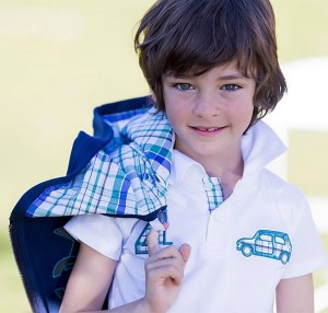 Polo y sudadera de Kids Chocolate