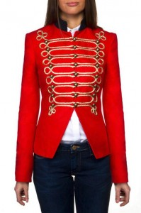 Chaqueta roja de The Extreme Collection