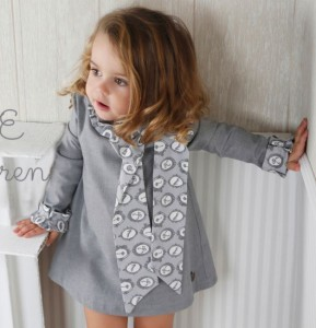 Vestido camafeo de Eve Children
