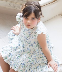 Vestido estampado flores de Kids Chocolate
