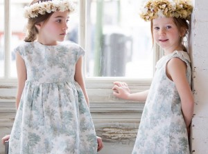 Vestidos toile de Kids Chocolate