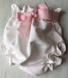 Culotte topitos rosas de The Cotton baby