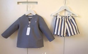 Conjunto marinero chilaba niño de Eve Children