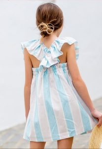 Vestido rayas de Kids Chocolate