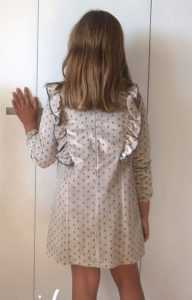 Vestido calaveras de Eve Children