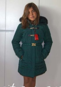 Parka verde de Lion of Porches
