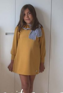 Vestido mostaza de Eve Children