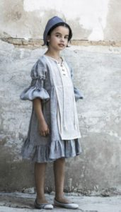 Vestido delantal denim de Belle Chiara