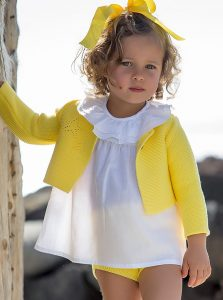 Conjunto punto amarillo de Kids Chocolate