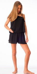 Top y shorts Sara negro de Antimilk