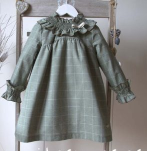 Vestido verde Forest de Eve Children