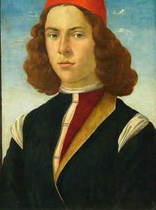 Retrato Botticelli