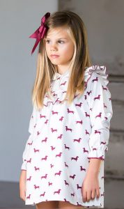Vestido Teckels de Kids Chocolate