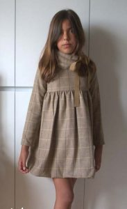 Vestido cuadros Spike de Eve Children