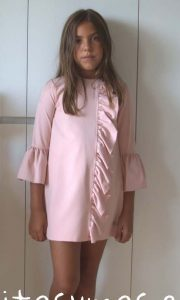 Vestido rosa Mountain de Eve Children