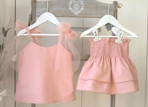 Conjunto falda Shell de Eve Children