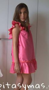 Vestido fresa de Kids Chocolate