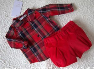 Conjunto bebé Scottish de Eve Children